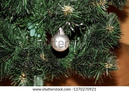 Christmas decoration, Christmas decorations on the Christmas tree #1370270921