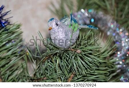 Christmas decoration, Christmas decorations on the Christmas tree #1370270924