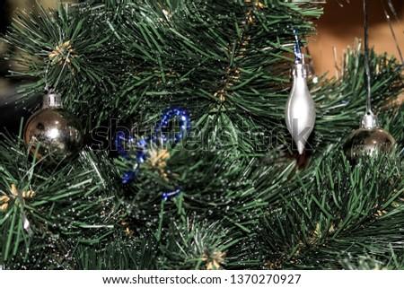 Christmas decoration, Christmas decorations on the Christmas tree #1370270927