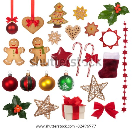 Christmas decoration collection #82496977