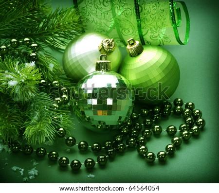 Christmas Decoration.Green