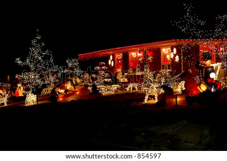 Christmas Decoration House