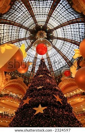Galeries Lafayette, Paris,