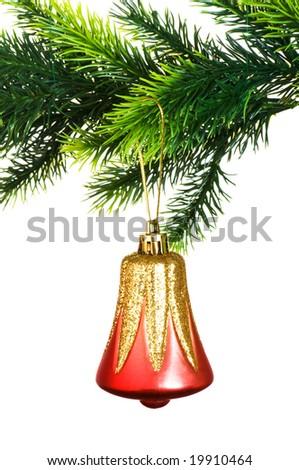 Christmas decoration isolated on the white background #19910464