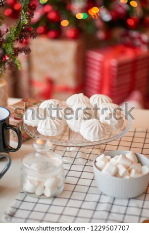 Christmas decoration of the kitchen  #1229507707