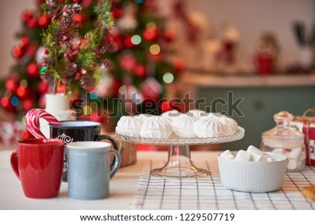 Christmas decoration of the kitchen  #1229507719