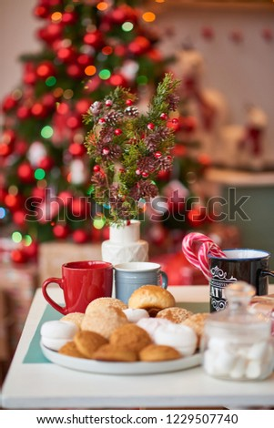 Christmas decoration of the kitchen  #1229507740