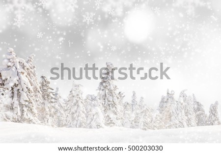 Christmas decoration on abstract background, close-up. #500203030
