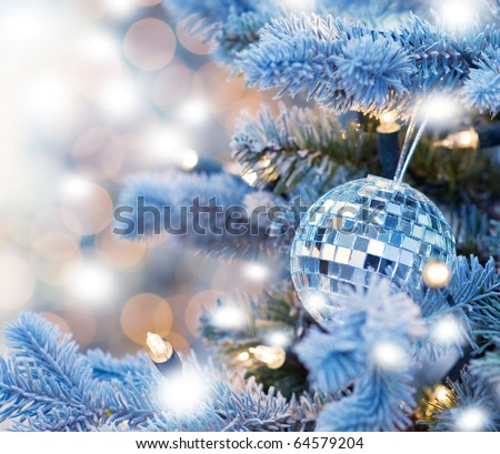 Christmas decoration (shallow DoF)
