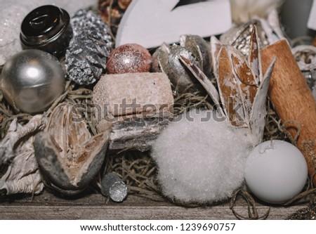 Christmas decoration, table decoration