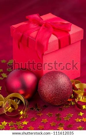 Christmas decoration with presents