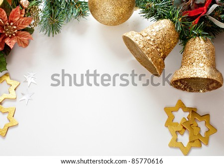christmas decorations. - stock photo