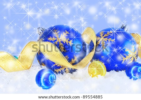Christmas decorations #89554885