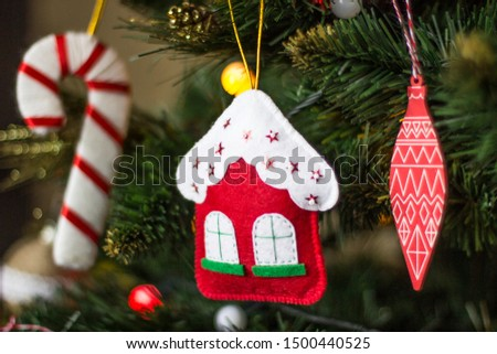 Christmas decorations. Decorations for the Christmas tree. #1500440525