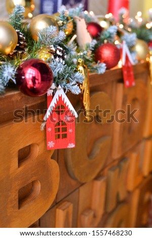 Christmas decorations ideas. Decorations for holiday party.