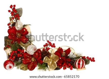 Christmas Decorative Border or Frame