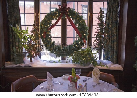 christmas dining at concord's