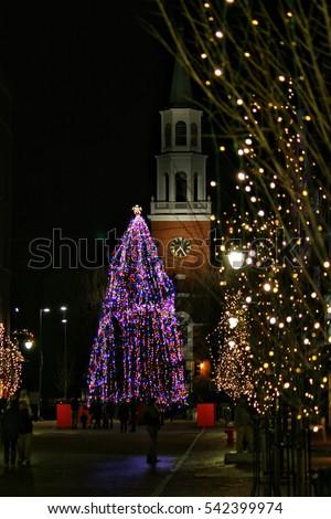 Christmas Eve, Burlington VT