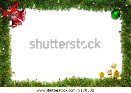Christmas frame #5178382