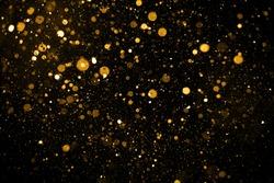 Christmas Glitter Lights Defocused Background