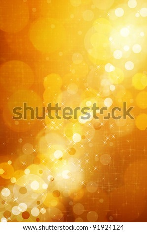 Christmas Glittering background.Holiday Gold abstract