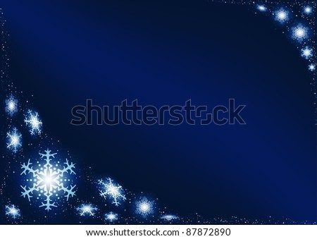 Christmas Glowing Snowflakes
