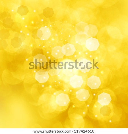 Christmas golden background for congratulation cards and design