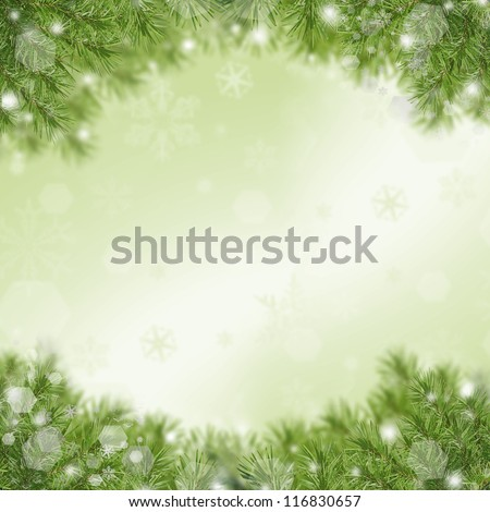 Christmas Green Framework