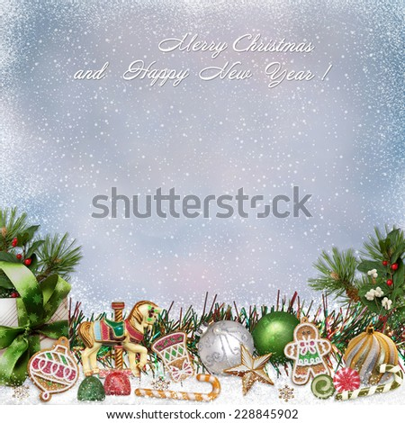 Christmas greeting background #228845902
