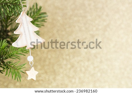 Christmas greeting card. Christmas background.