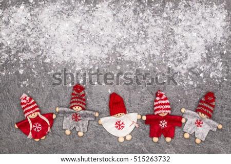 christmas greeting card. noel...