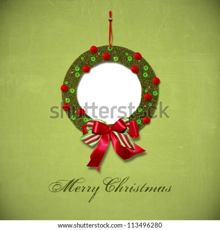 Christmas greeting card quickpage