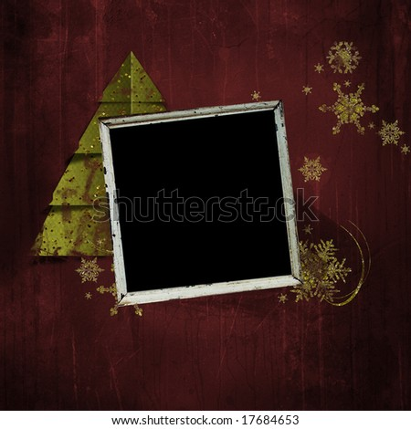 christmas grunge background