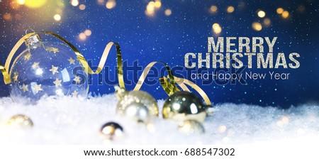 Christmas holiday background #688547302