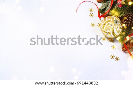 Christmas holiday background. #691443832