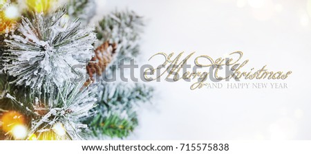 Christmas holiday background  - Shutterstock ID 715575838