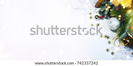 Christmas holiday background. #742337242