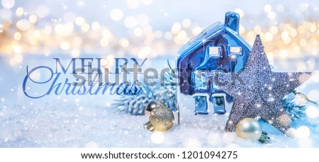 Christmas holidays background with copy space for your text #1201094275