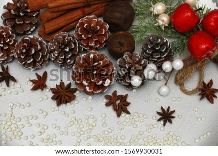 christmas holidays, christmas holidays, 2020, angel, snowman, pine cone, cinnamon, granite, black, decorations, baking, molds, roasted millet, candy, ornaments, background, dried lime #1569930031