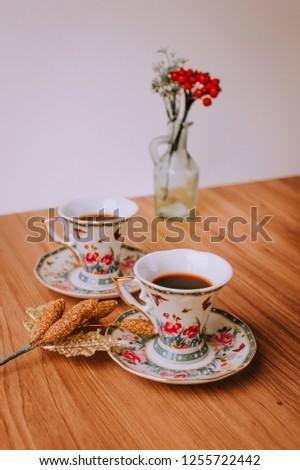 Christmas Home Decoration, Gifts, Mug of Coffee, Christmas Lights, Social Media Pics