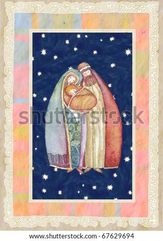 Christmas: Jesus Christ , Joseph, Mary