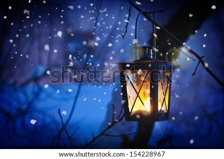 Christmas Lantern #154228967