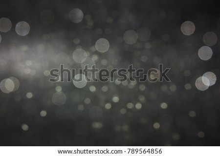 Christmas light background.  Holiday glowing backdrop. Defocused Background With Blinking Stars. Blurred Bokeh. - Shutterstock ID 789564856