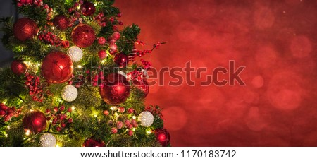 Christmas light. Christmas and New Year holidays background  - Shutterstock ID 1170183742
