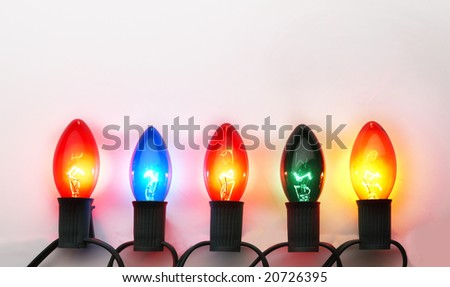 Christmas lights #20726395