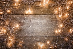 christmas lights, background christmas ornaments
