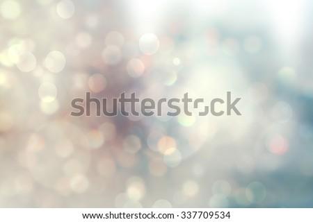 christmas lights. Christmas soft  Bokeh background