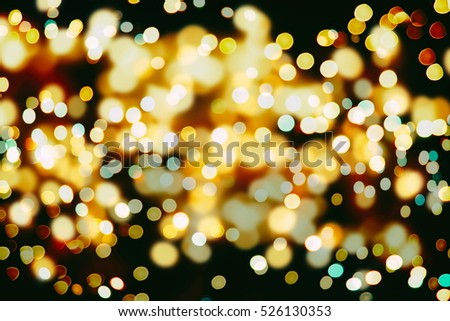 christmas lights concept festive christmas background elegant abstract background with bokeh defocused lights and