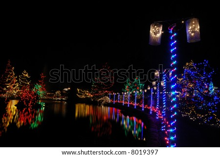 christmas lights festival at vandusen gardens