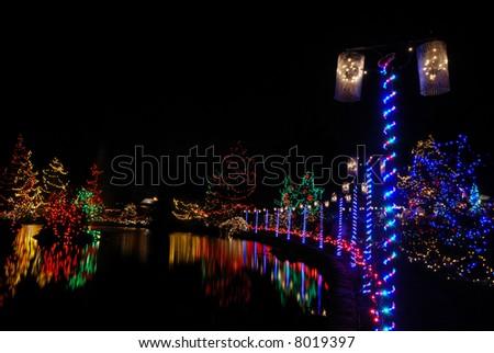 christmas lights festival at vandusen gardens